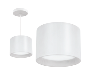 Suspended LED fixtures